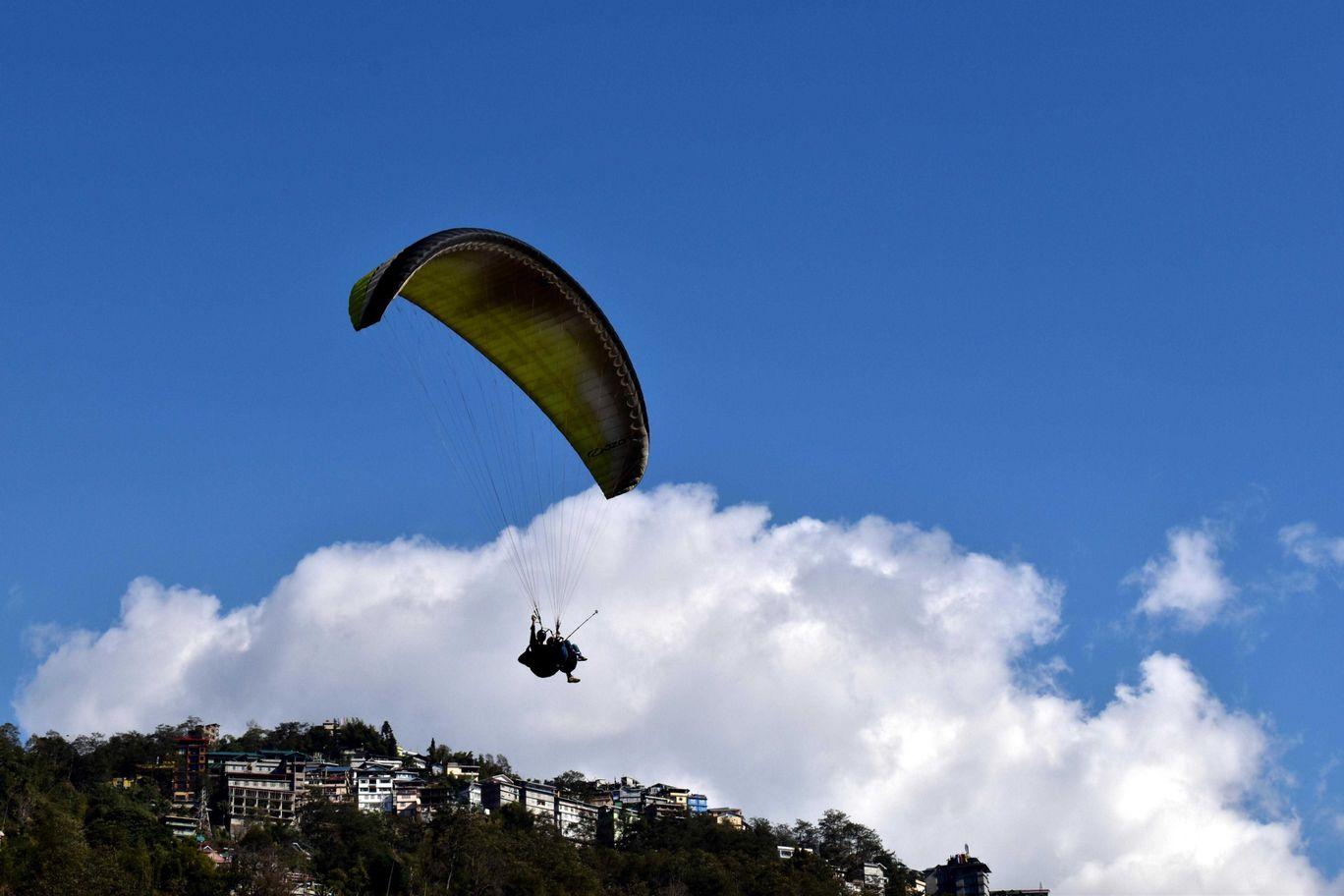 Photo of Sikkim Paragliding By Kasturi Mitra