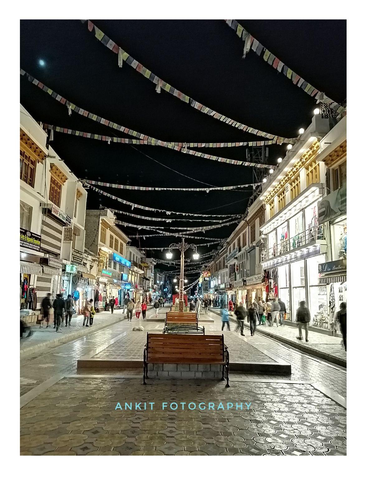 Photo of Leh Market By Ankit Gupta