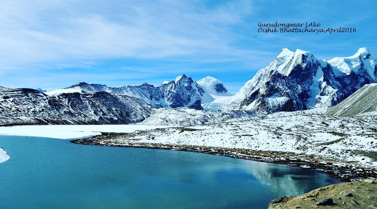 Photo of Gurudongmar Lake By Oishik Bhattacharya