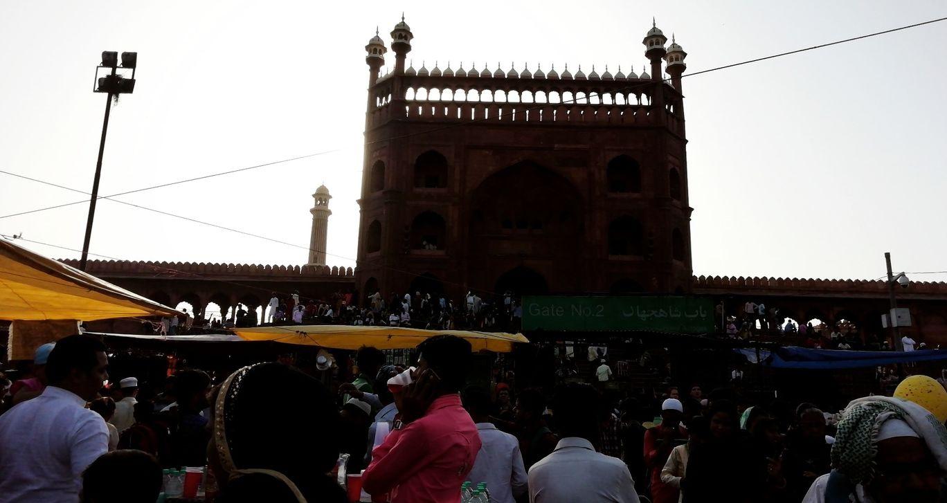 Photo of Jama Masjid By Dhruv Mehta