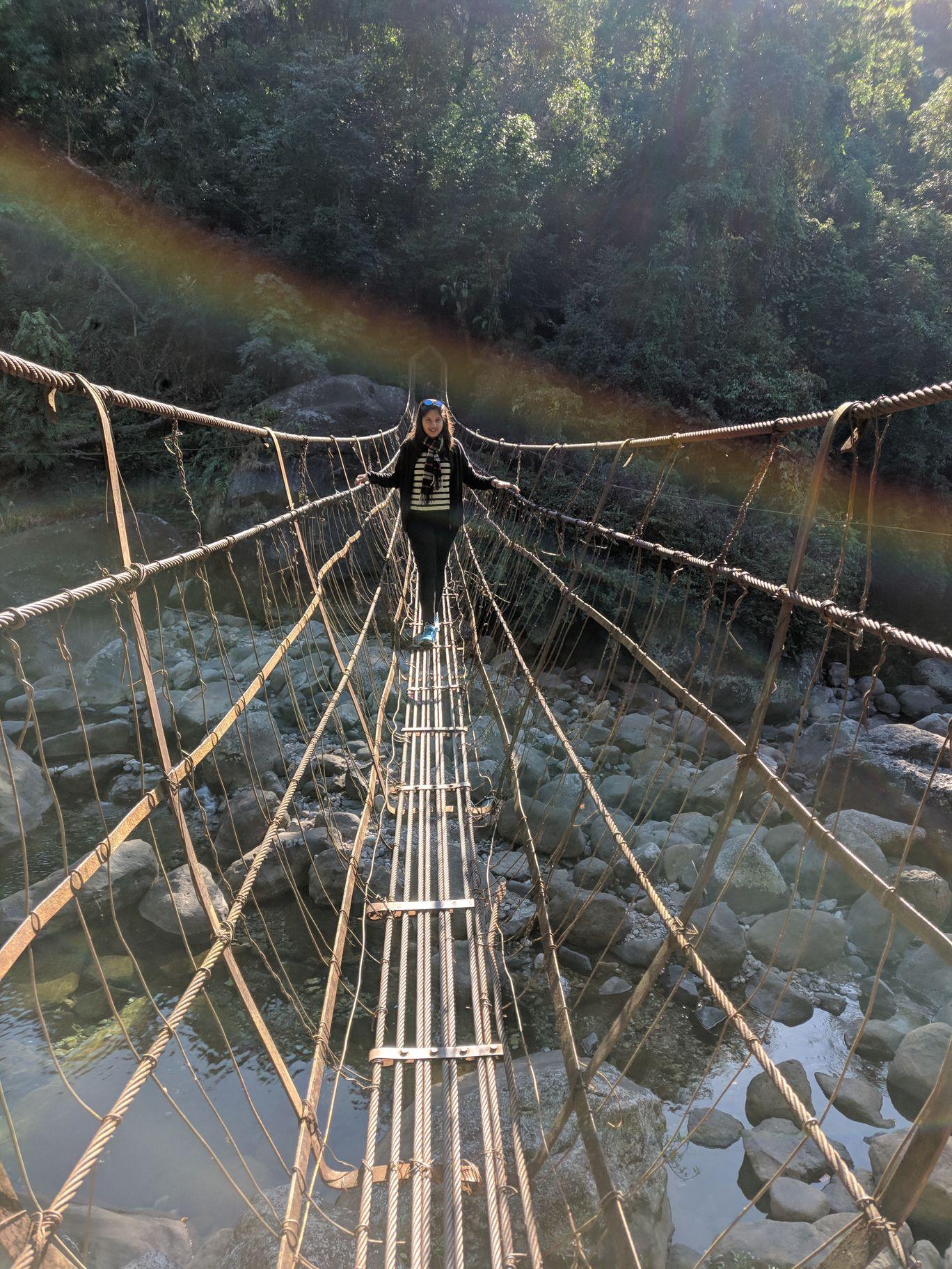 Photo of Jingkieng Nongriat Double Decker Living Root Bridge By Nikita Khetan