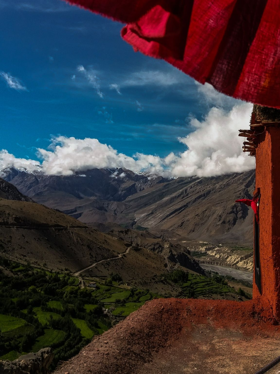 Photo of Dhankar Monastery By Govind Ambalakkara