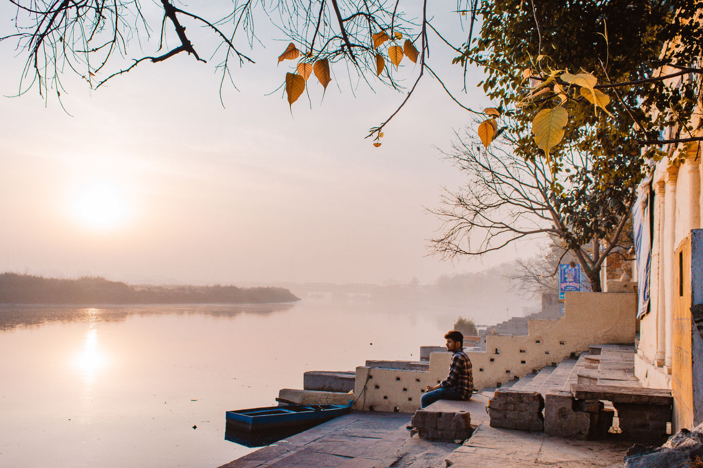 Photo of Yamuna Ghat By Vipul Mishra
