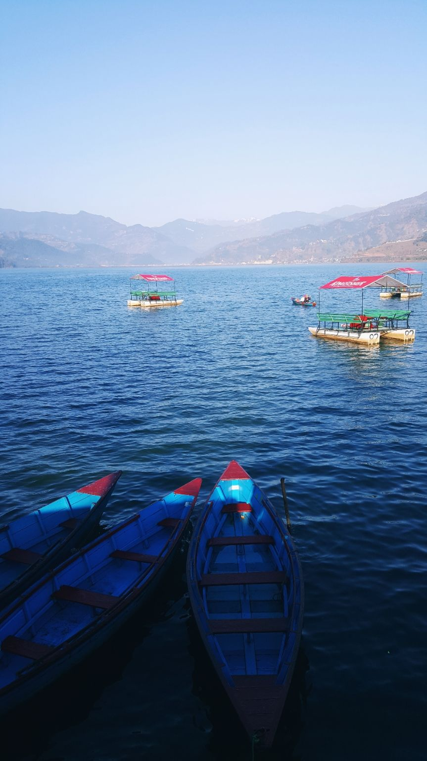 Photo of Pokhara lakeside By abider