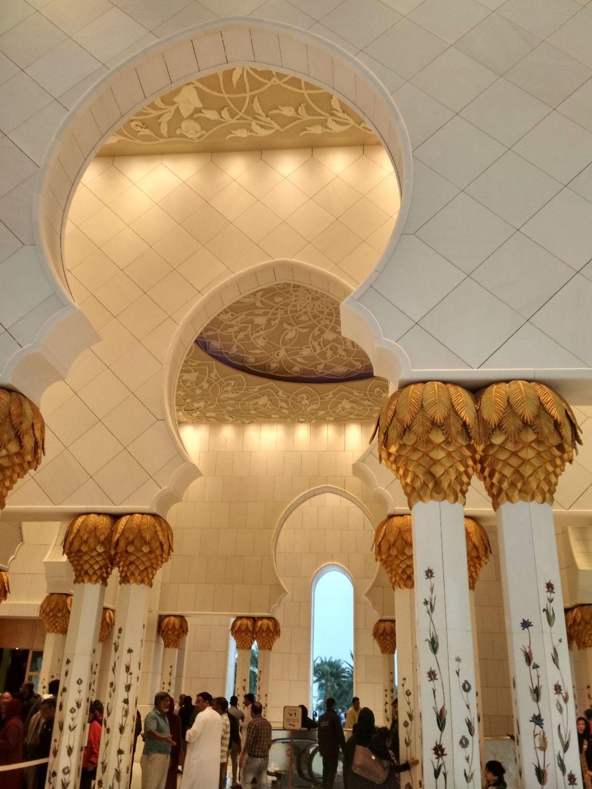 Photo of Sheikh Zayed Grand Mosque Center - Sheikh Rashid Bin Saeed St - Abu Dhabi - United Arab Emirates By Deljo Johnson