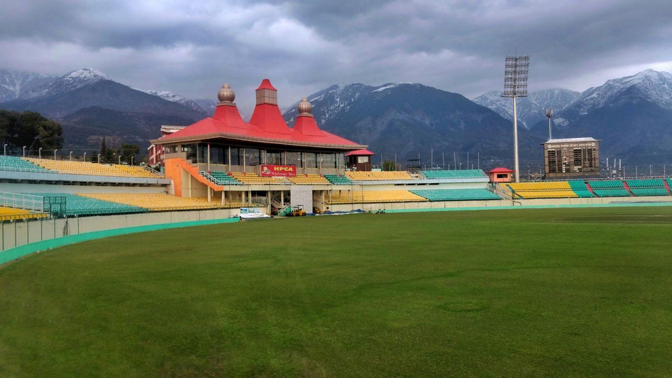 Photo of Himachal Pradesh Cricket Association Stadium Dharamshala By Thalesh Sao