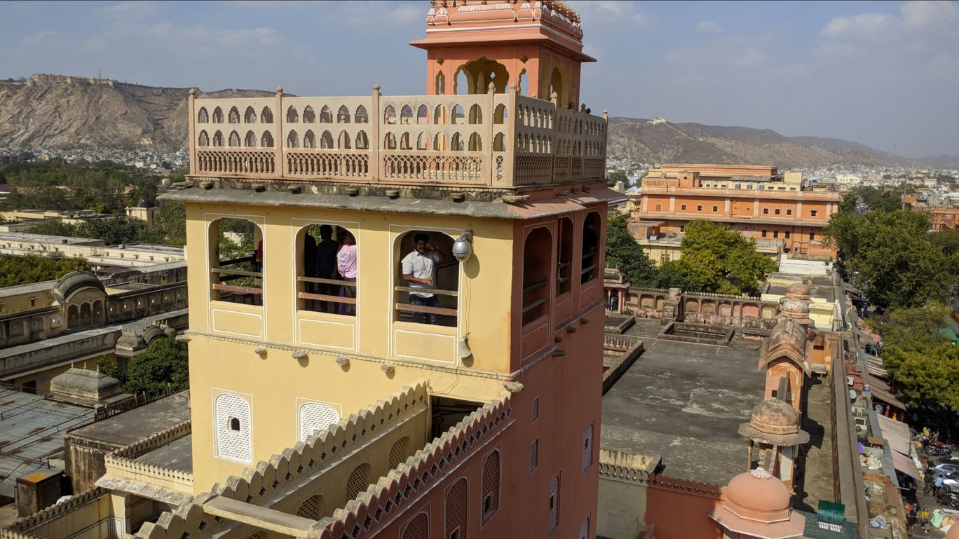 Photo of Hawa Mahal Road By HABEEL ANSARI