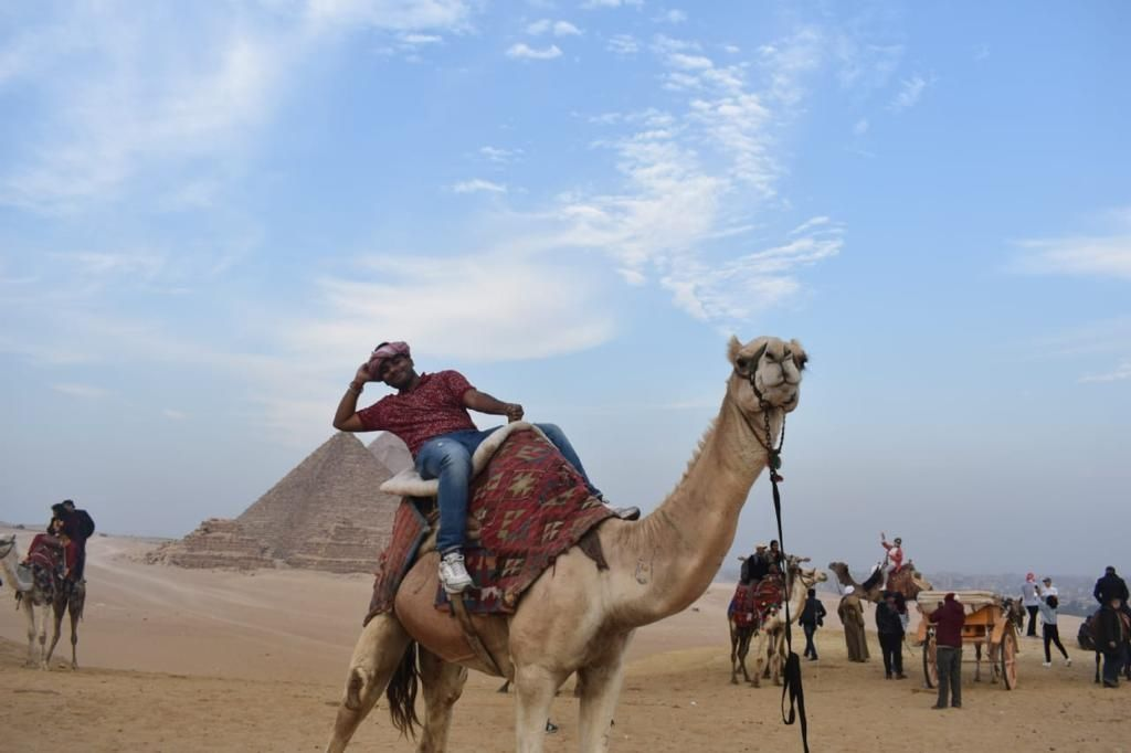 Photo of Egypt By Fly with kartick
