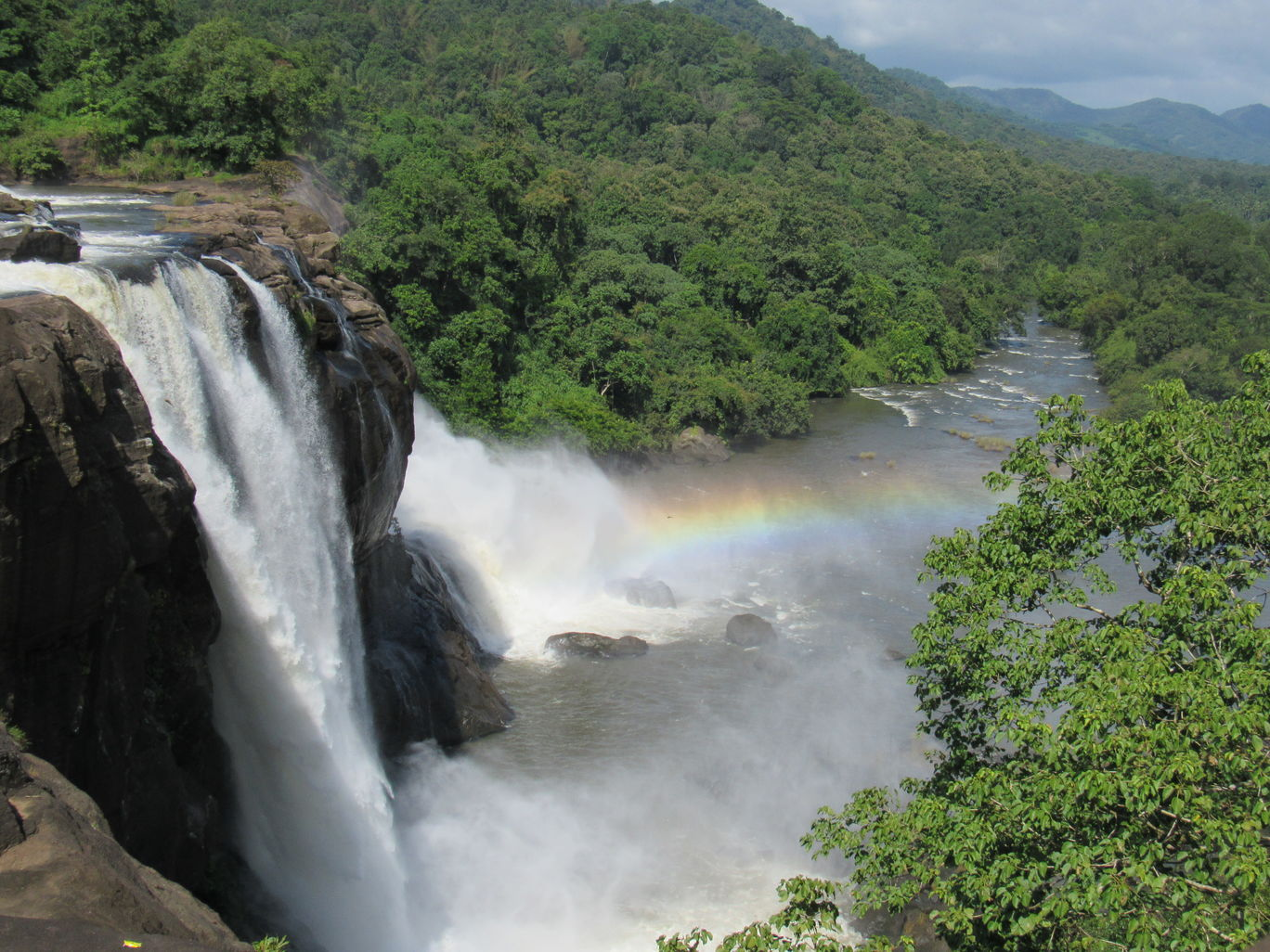 Photo of Athirapally Falls By Mozart Benedict