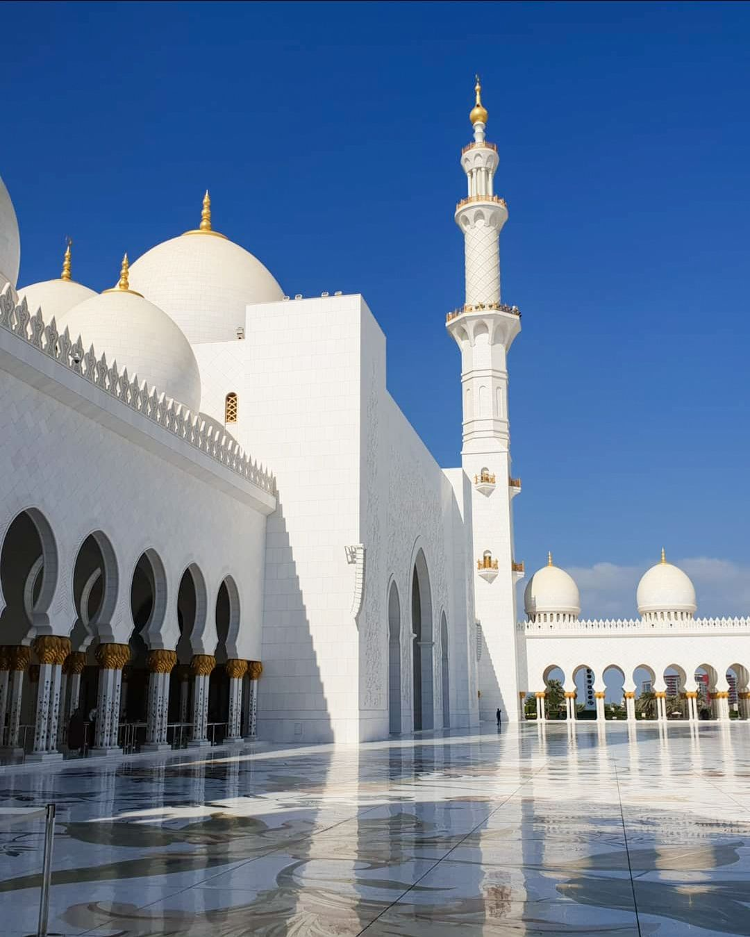 Photo of Sheikh Zayed Mosque - Abu Dhabi - United Arab Emirates By Sanjari Arora