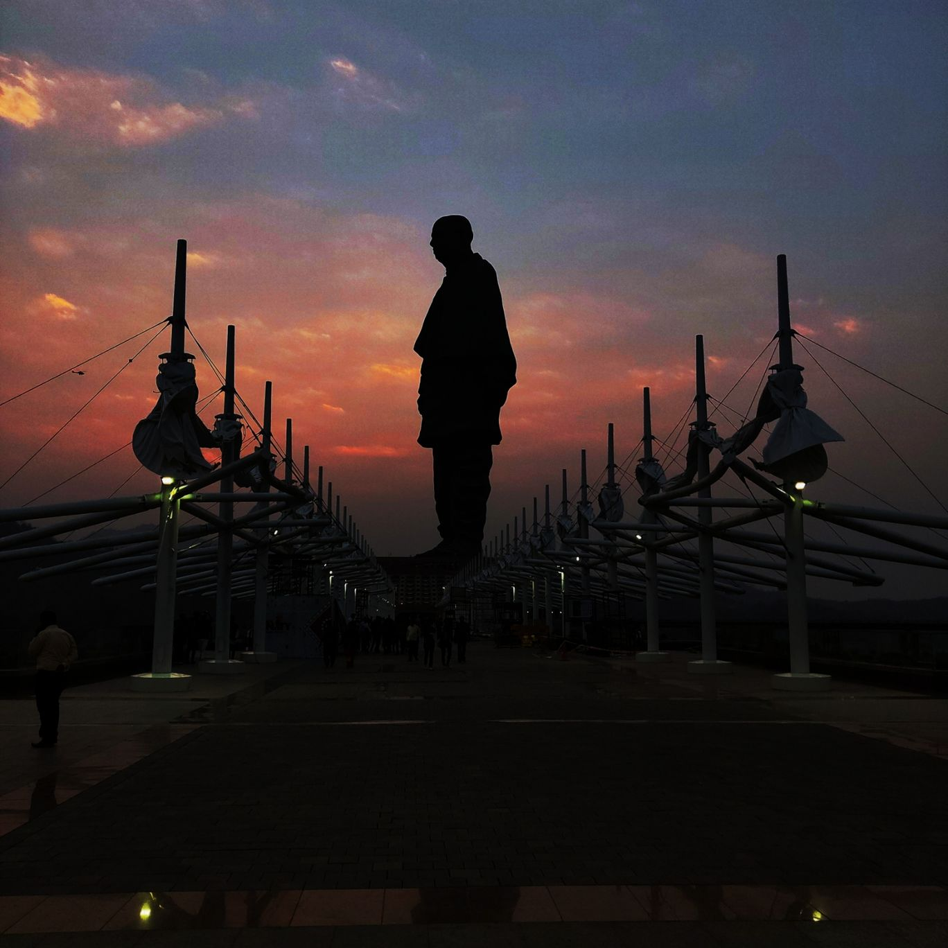 Photo of Statue of Unity By Harit Bandi