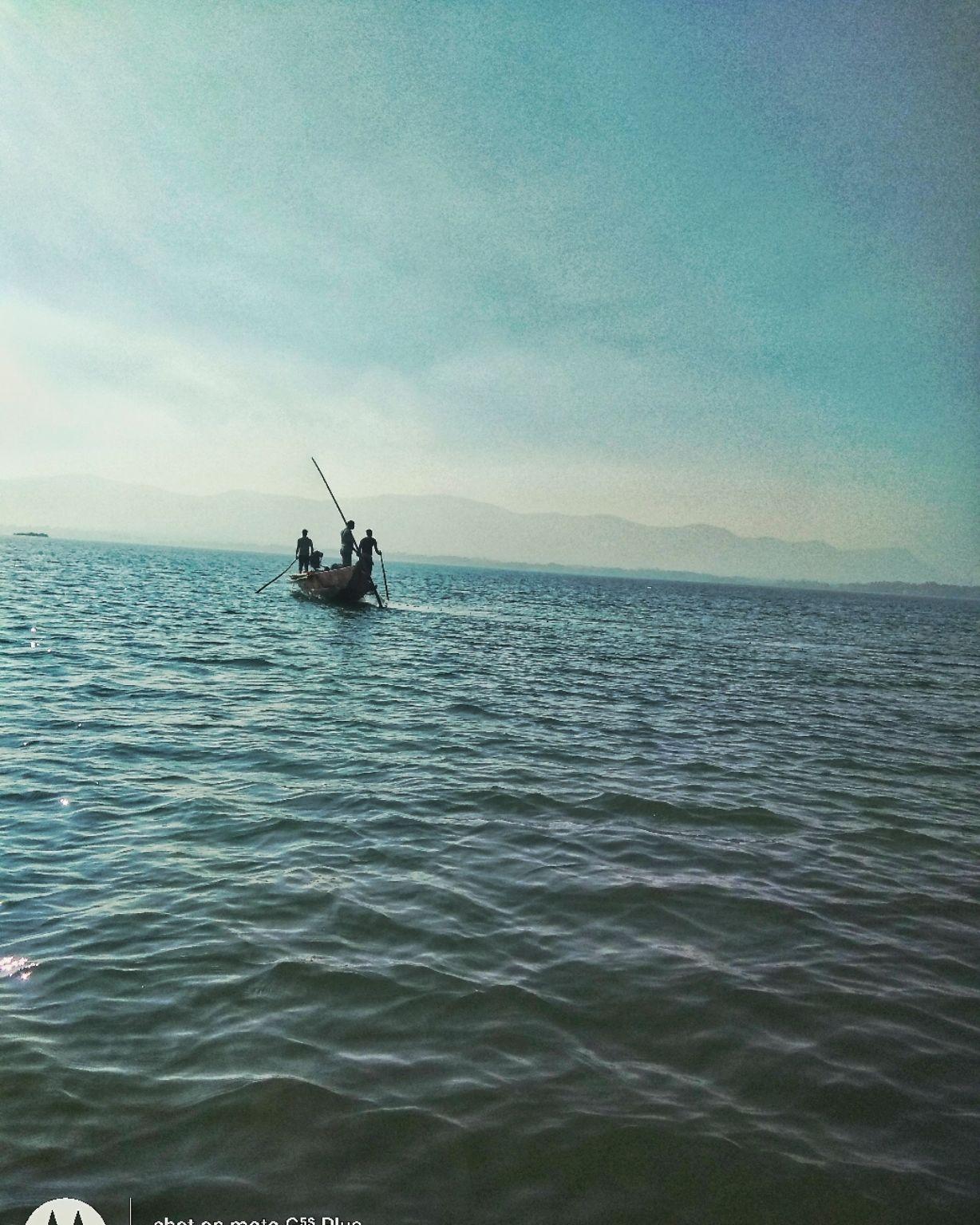 Photo of Chilika Lake By Nihar Ranjan Nayak