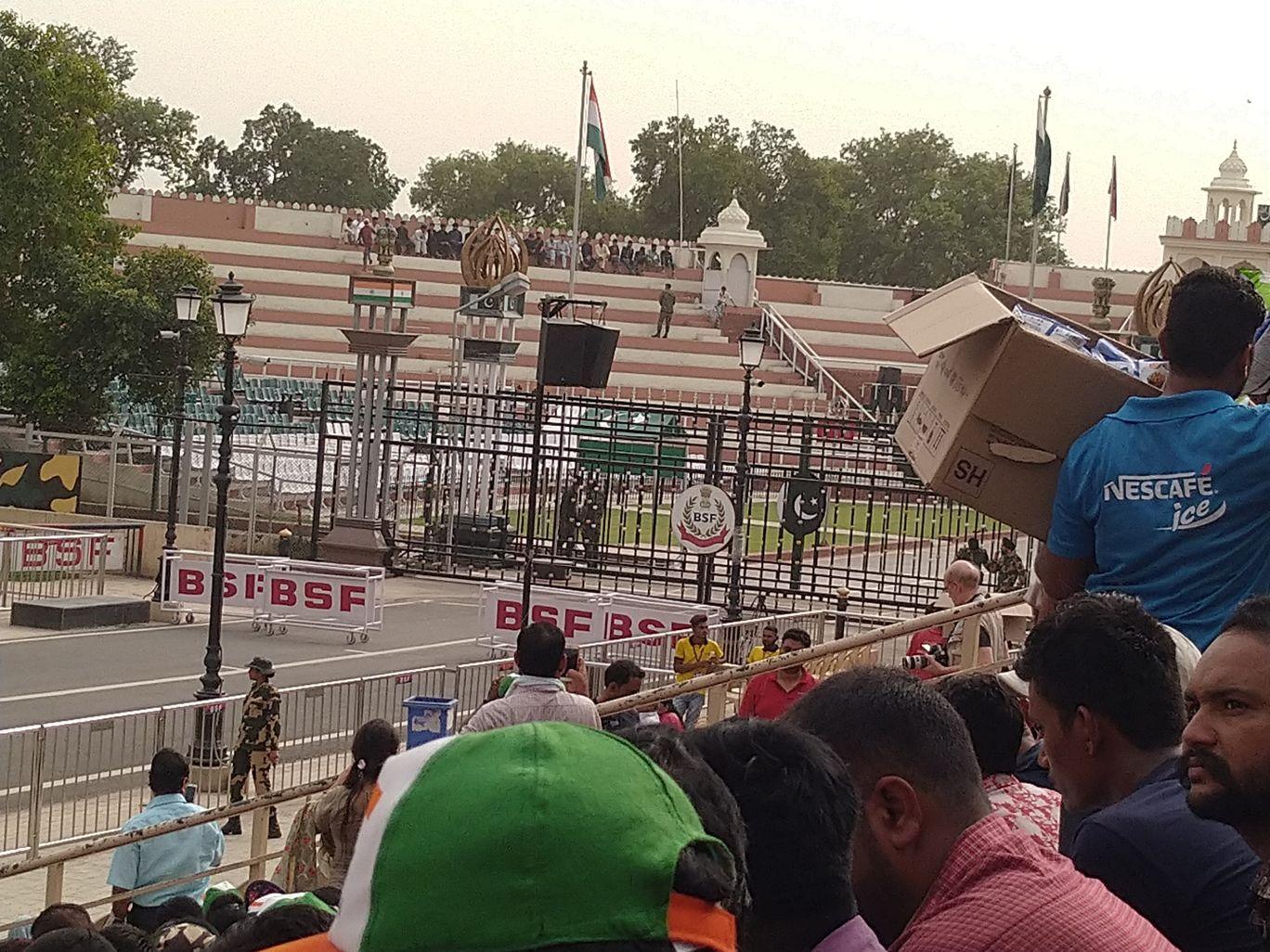 Photo of india Wagah Border Stadium 1 By Harsha V Raju