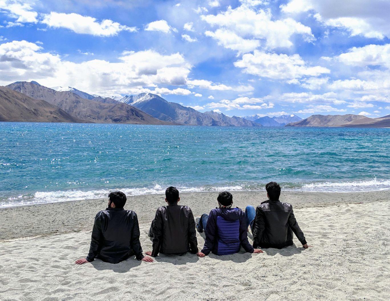 Photo of Pangong Lake By Nakul Joshi