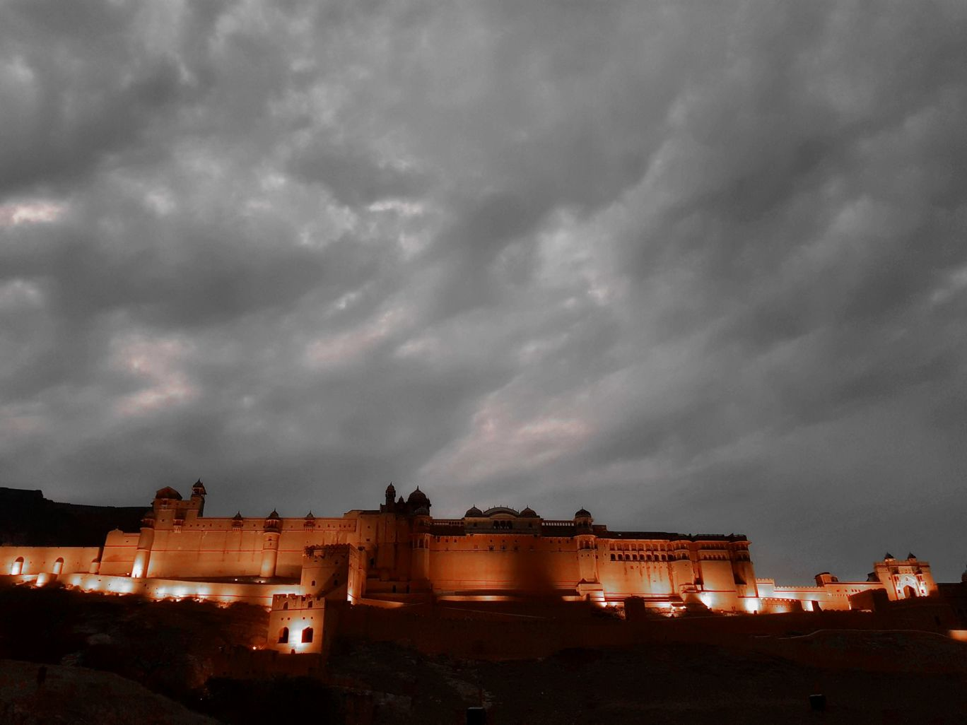 Photo of Amber Fort View By sinu jacob