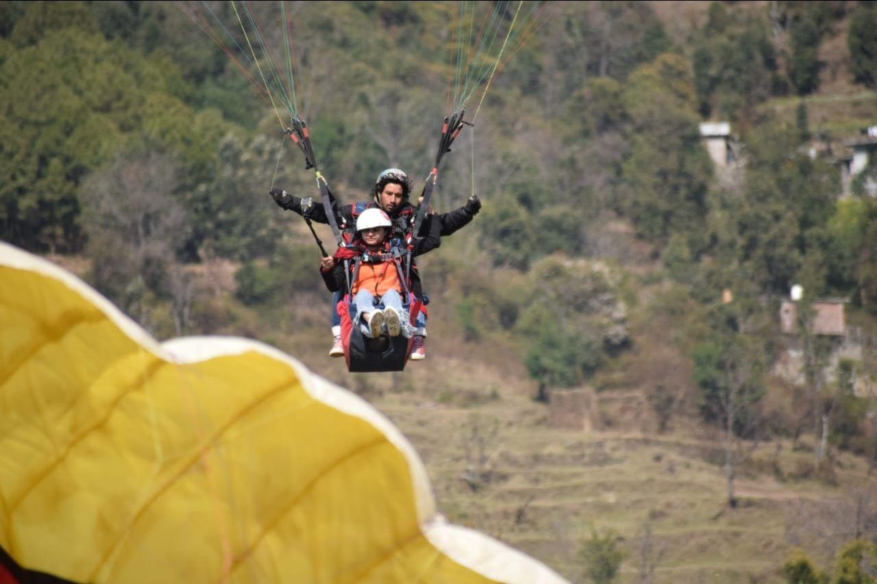 Photo of Bir Billing Paragliding By Monika Chaudhary