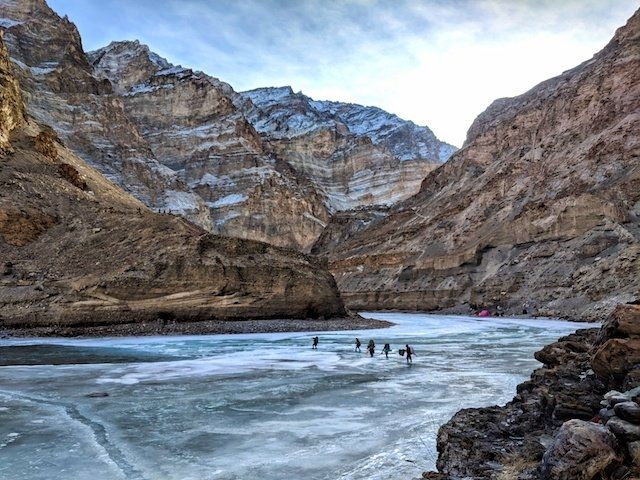 Photo of Zanskar River By The Jammu and Kashmir Tourism
