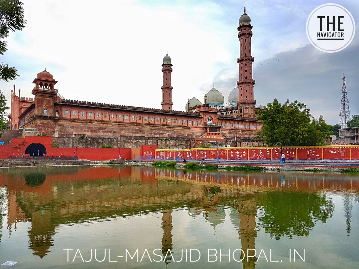 Photo of Taj Ul Masajid BHOPAL By Chanderi Madhya predesh.