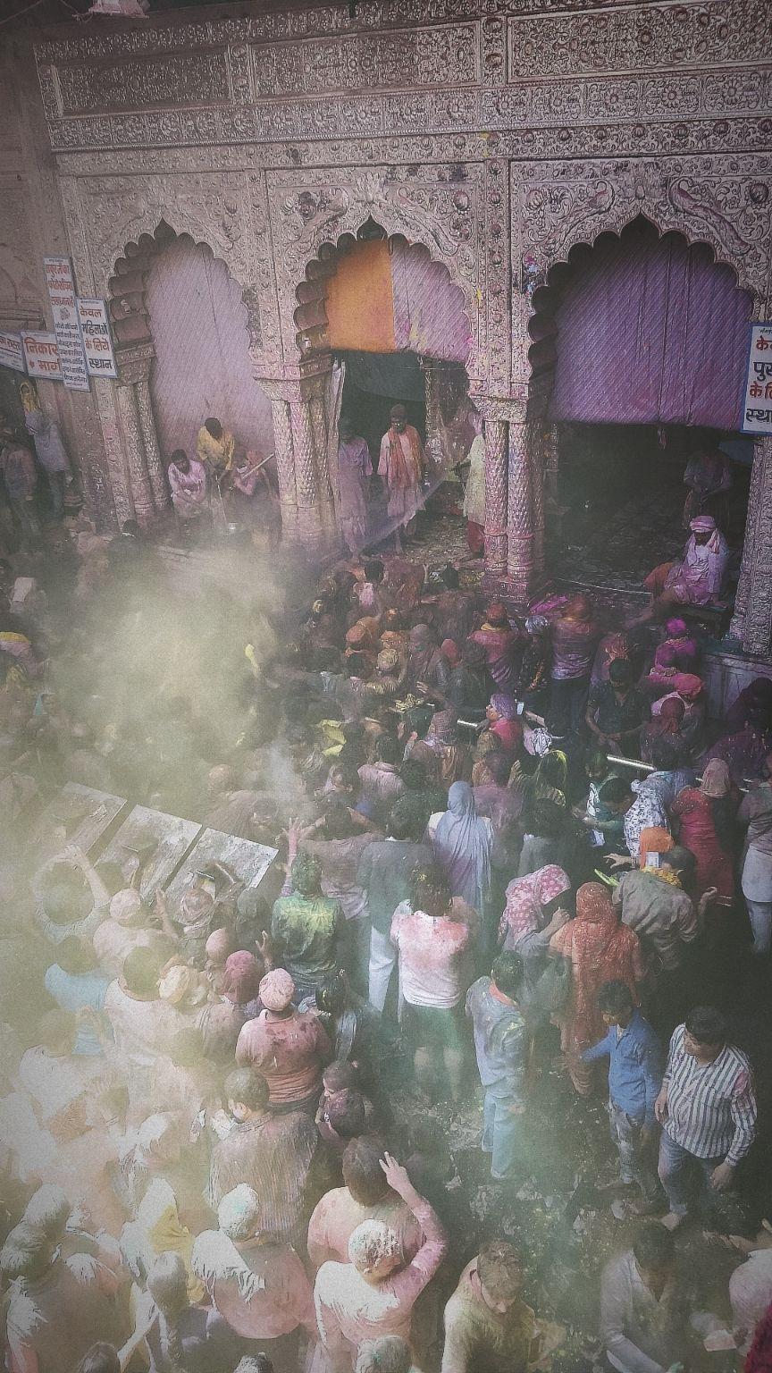 Photo of Banke Bihari Temple By Animesh Mittal