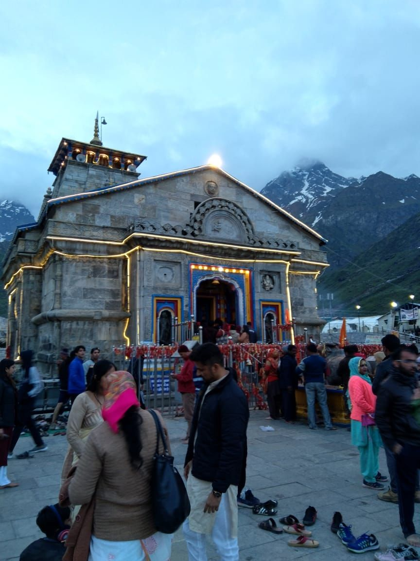 Photo of Kedarnath Temple By saran raj
