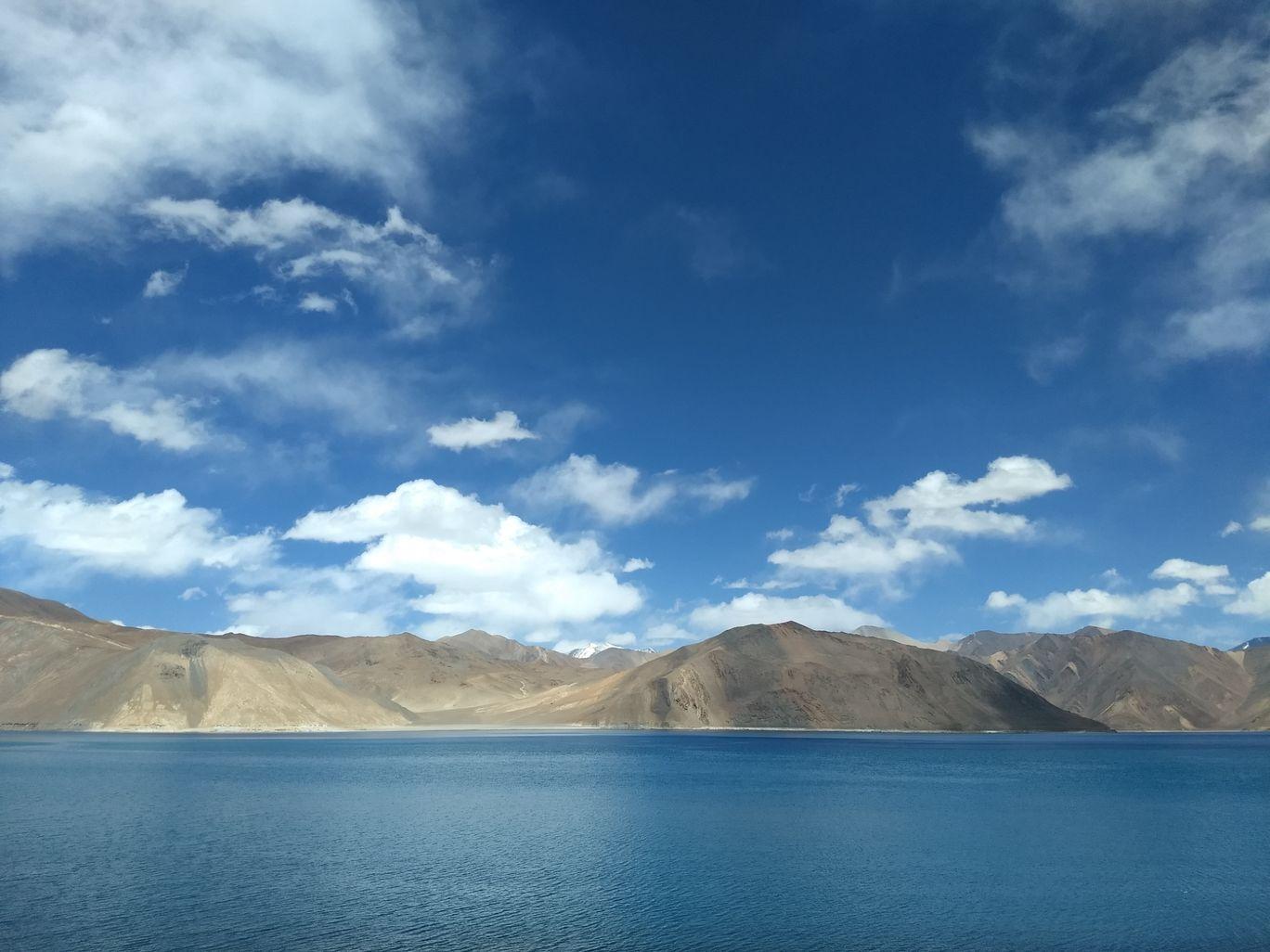 Photo of Pangong Lake By Abhishek Sharma