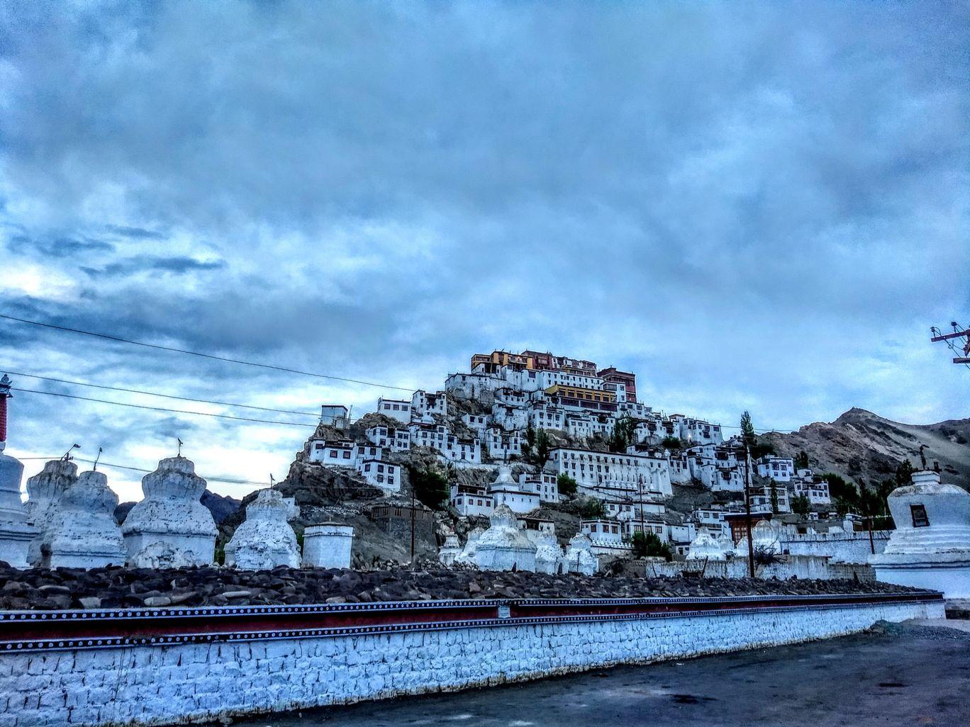 Photo of Thiksey Monastery Leh Ladakh By Abhishek Sharma