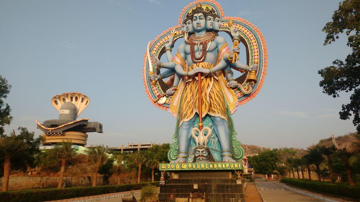 Photo of Yadagirigutta By Sandeep Kumar Chanda