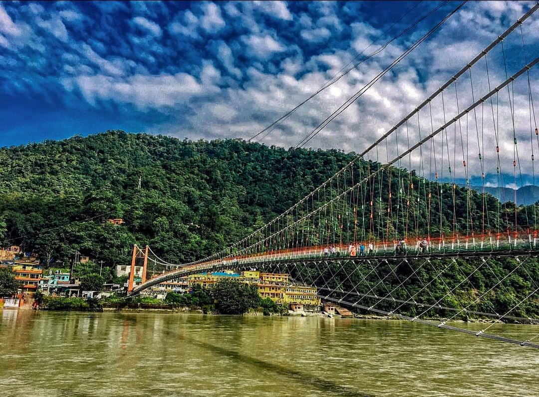 Photo of Laxman Jhula Bridge By Rhythm Grover