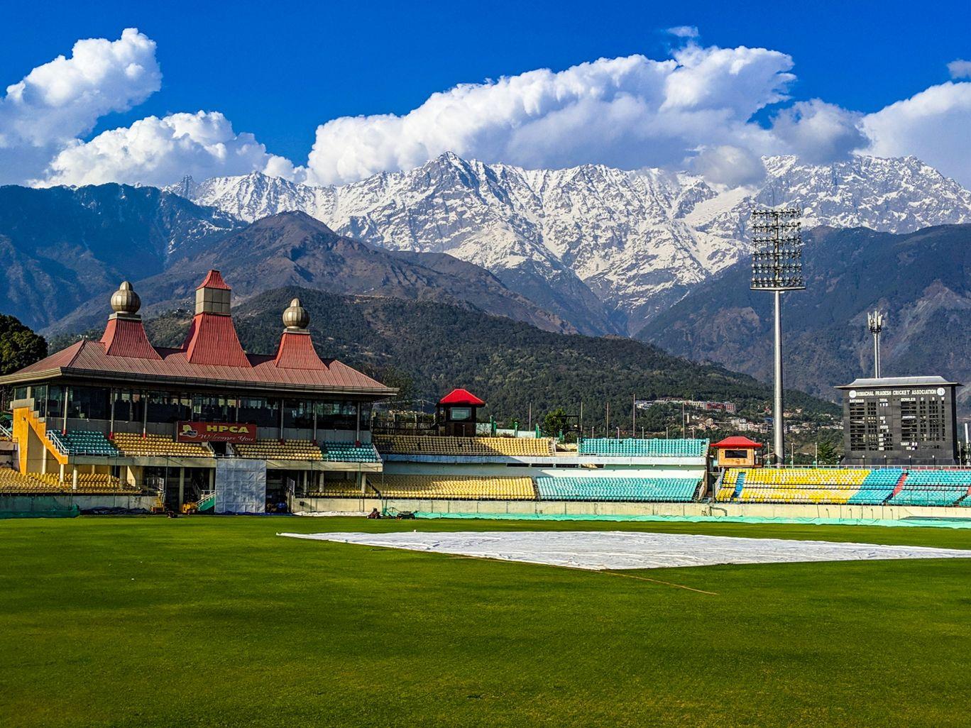 Photo of Cicket stadium Dharamshala By Rhythm Grover