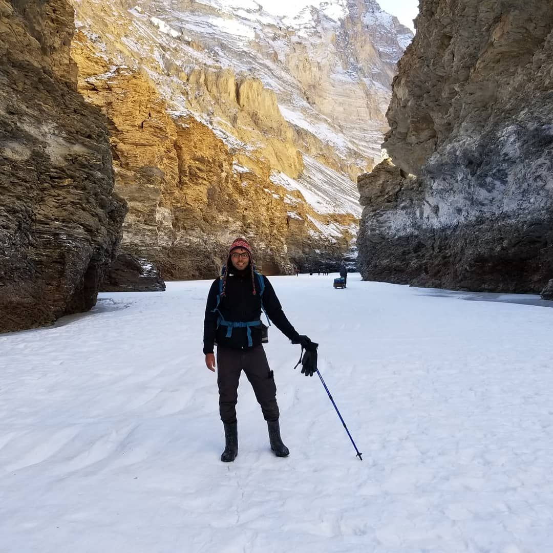 Photo of Chadar trek - Trekking In Ladakh - Frozen River Trekking In Ladakh By kishor salian