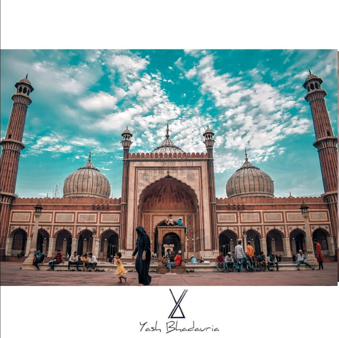 Photo of Jama Masjid By Yash Bhadauria