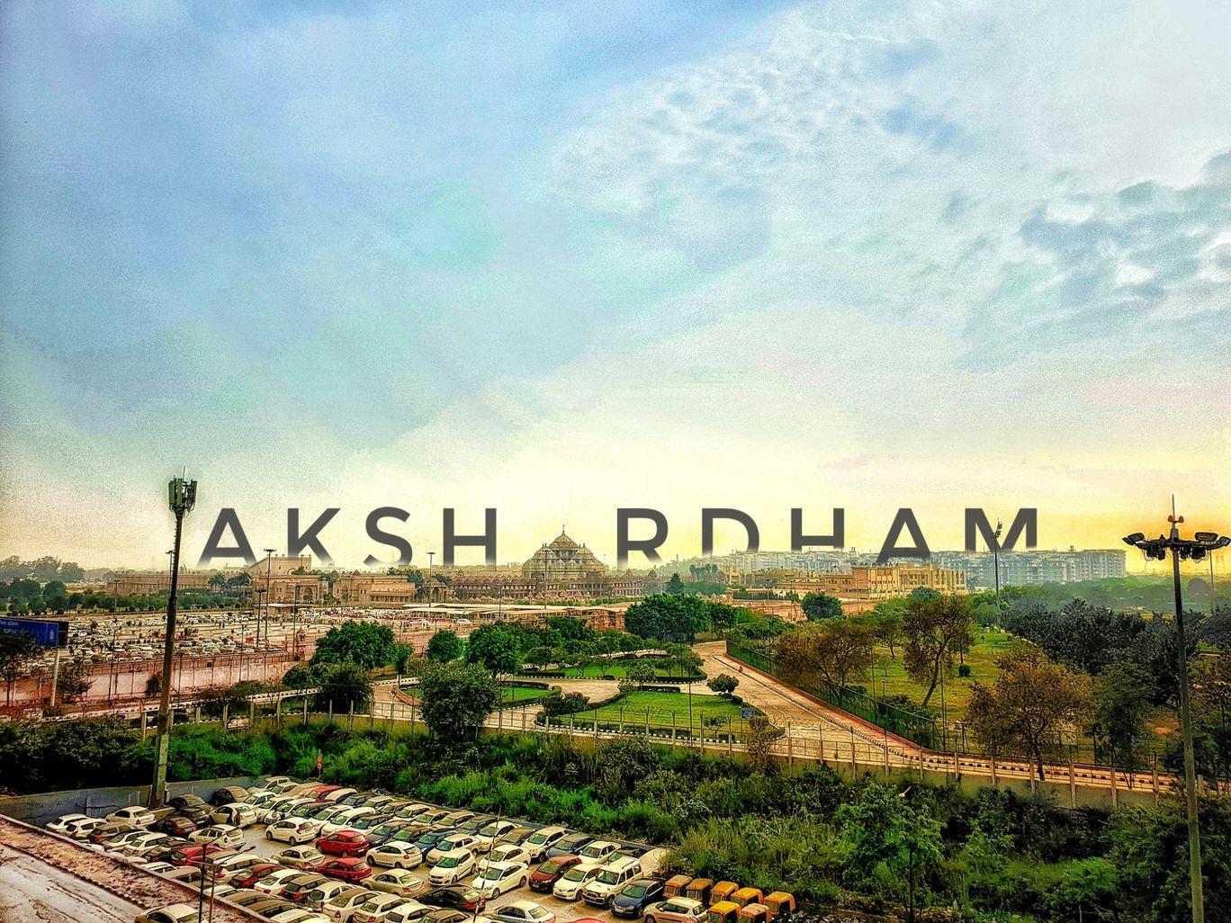 Photo of Akshardham Temple By Akshat Jain