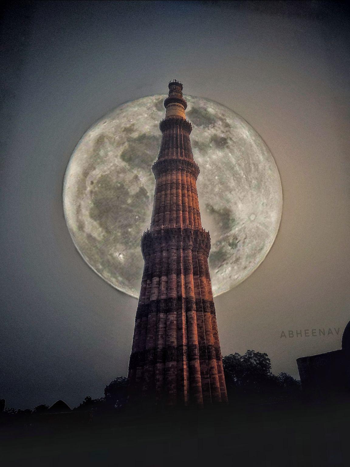 Photo of Qutub Minar By Abhinav BHARDWAJ
