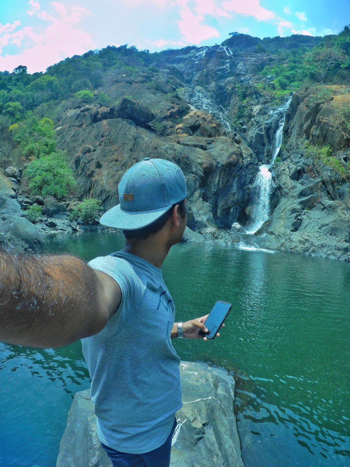 Photo of Dudhsagar Falls By Pixalgram