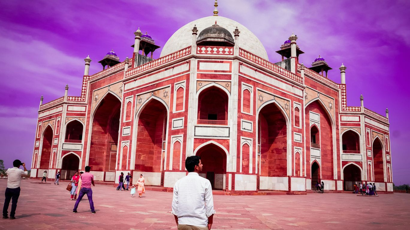 Photo of Humayun's Tomb By karambir chauhan