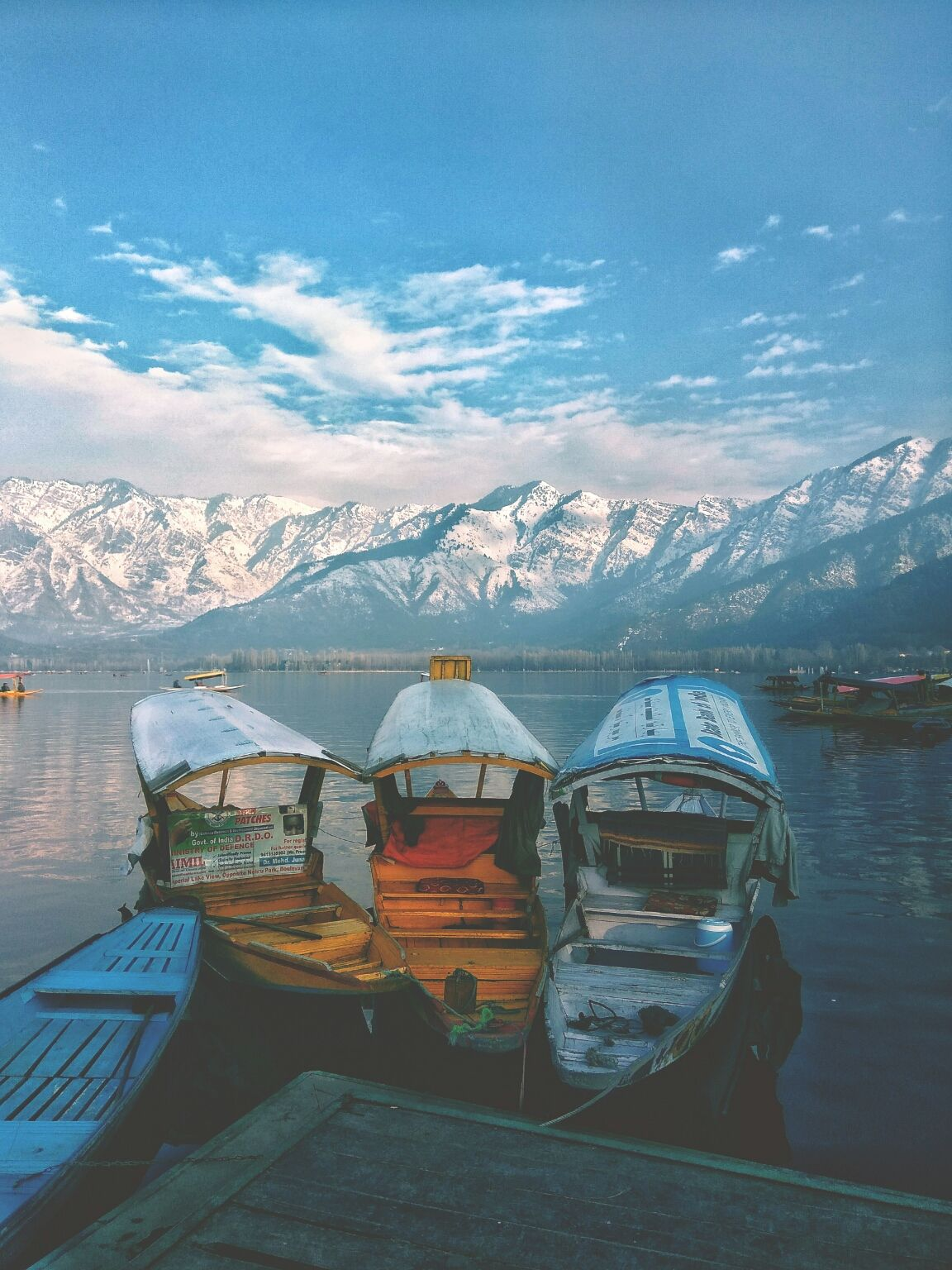 Photo of Dal Lake By Adnan Amin