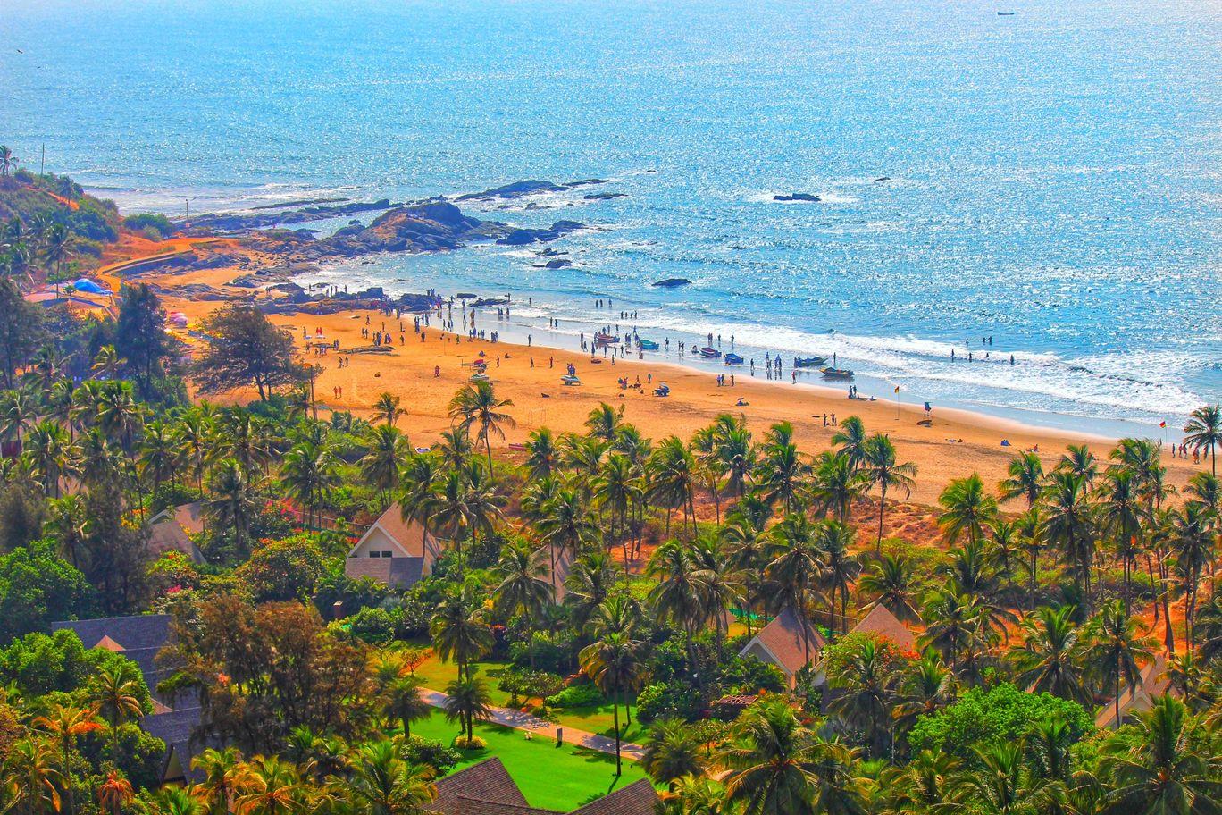 Photo of Vagator Beach By Lalit Teshwar