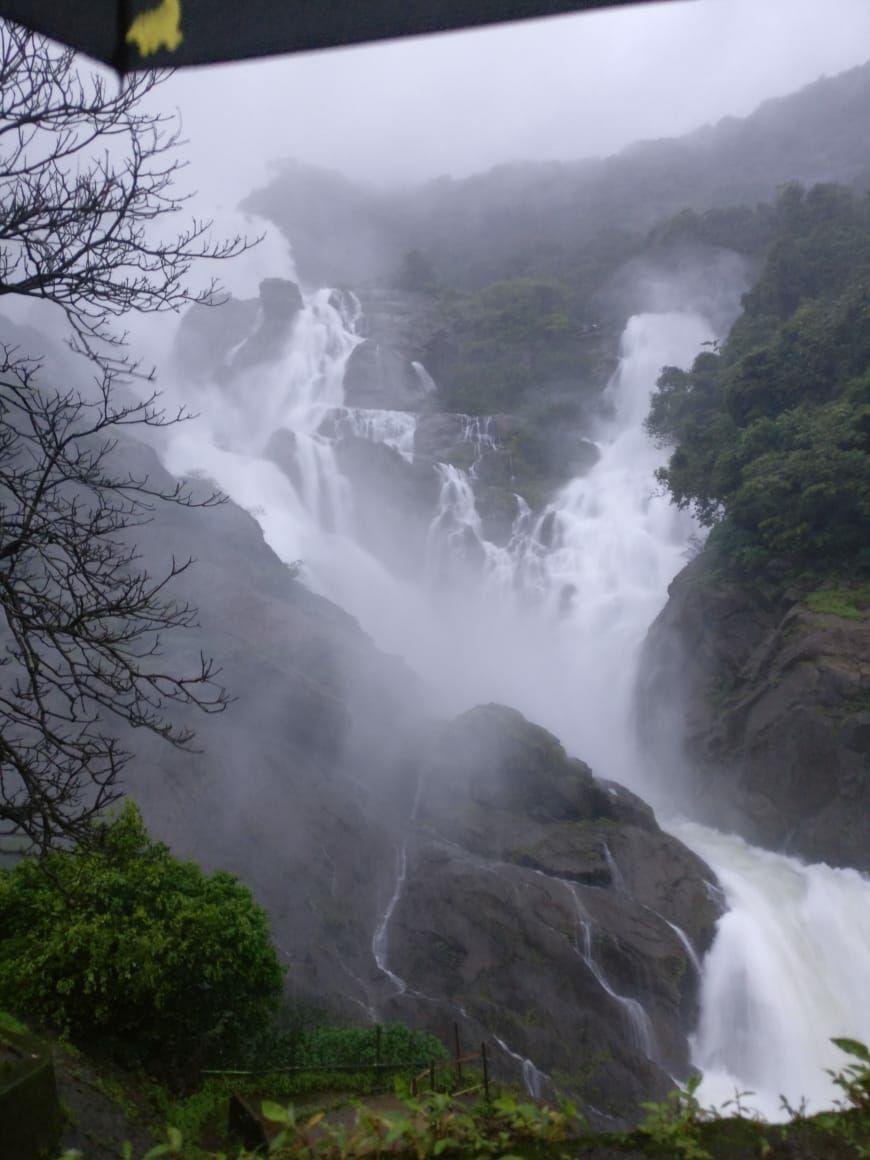 Photo of Dudhsagar Falls By Prafulla Padvi