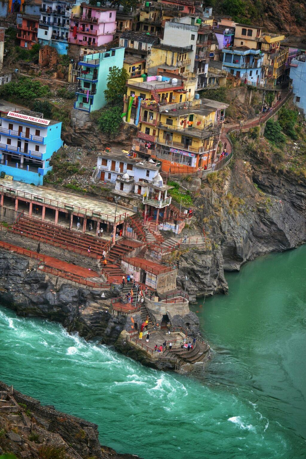 Photo of Rudraprayag Sangam By Malhar Acharya