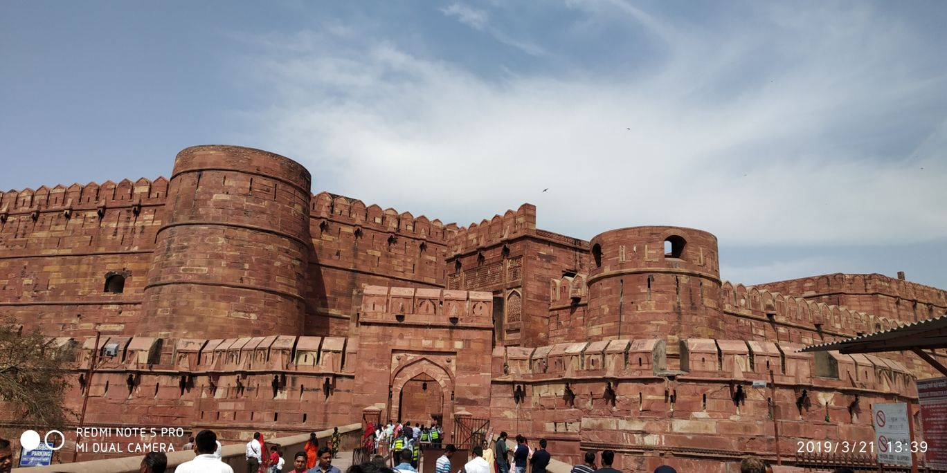 Photo of Agra Fort By Prakash Chaturvedi