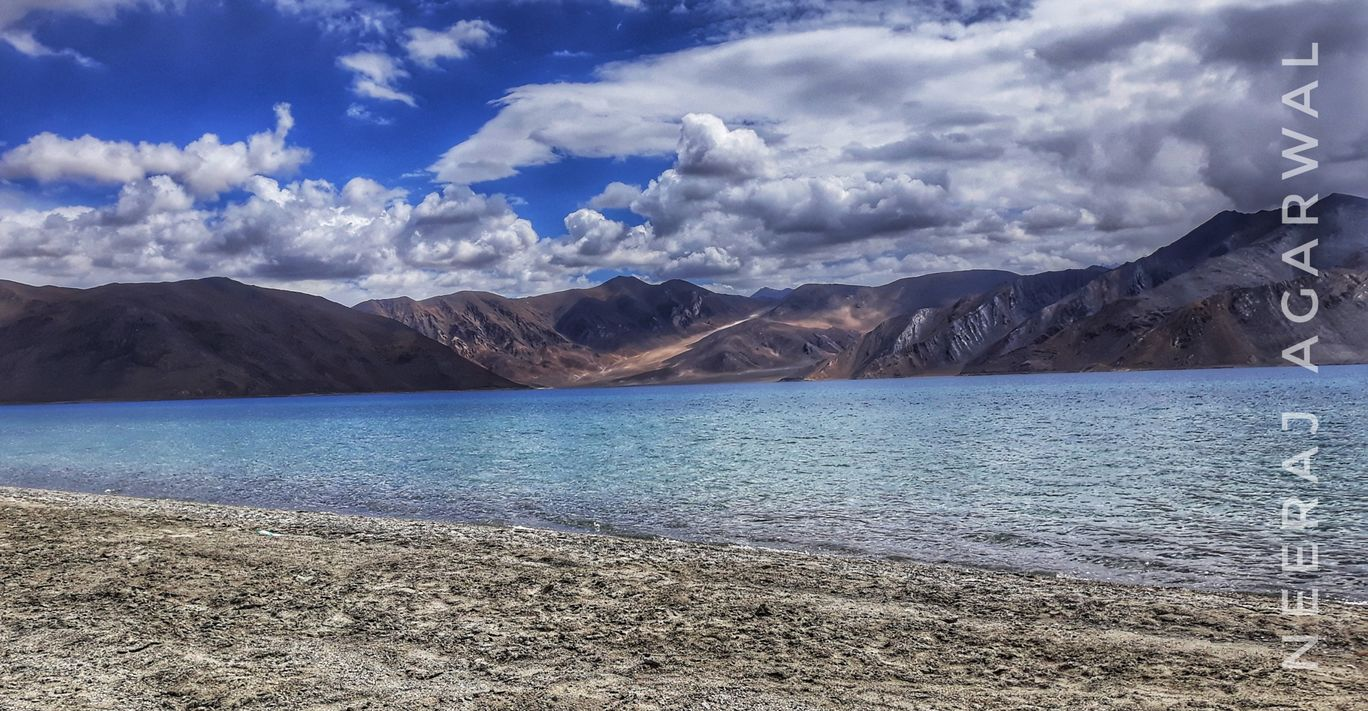 Photo of Pangong Lake By Neeraj Agarwal