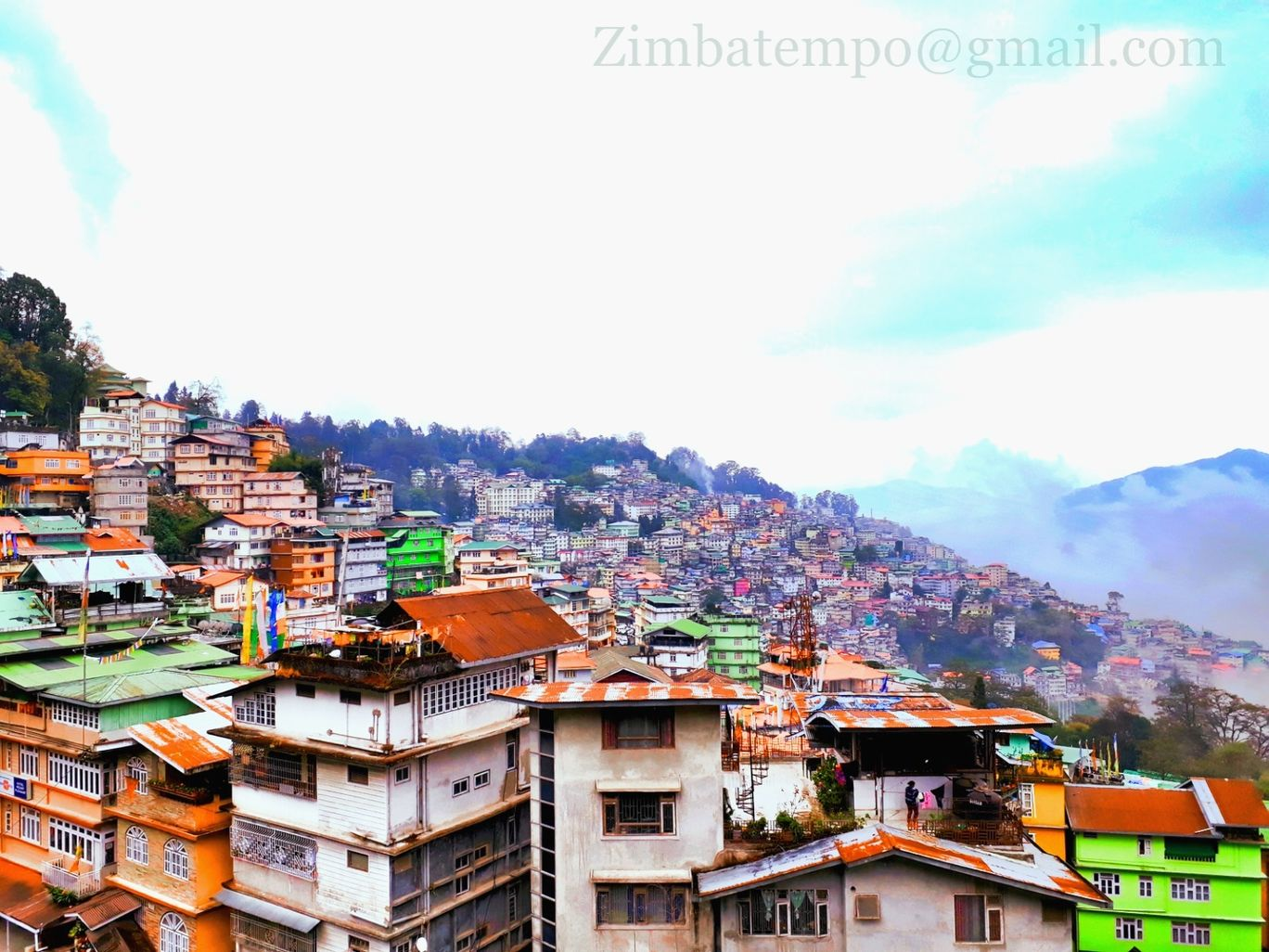 Photo of Gangtok By ZIMBA vlogs