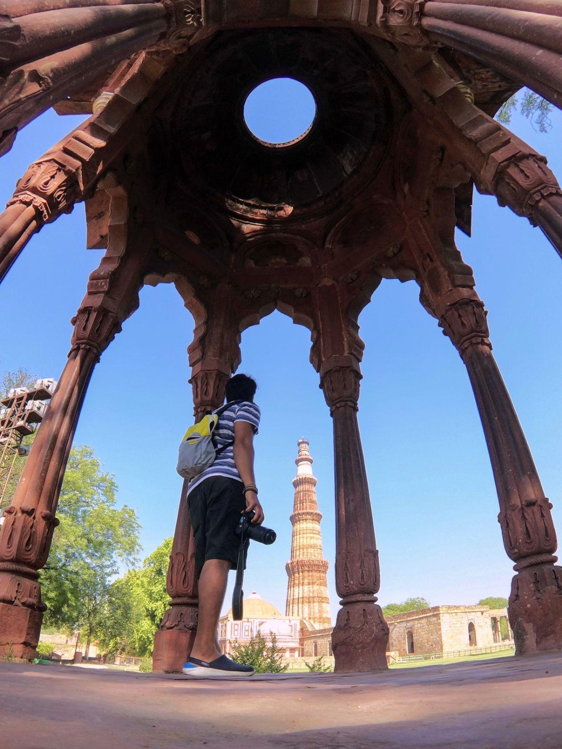 Photo of Qutub Minar By Manish Kumar