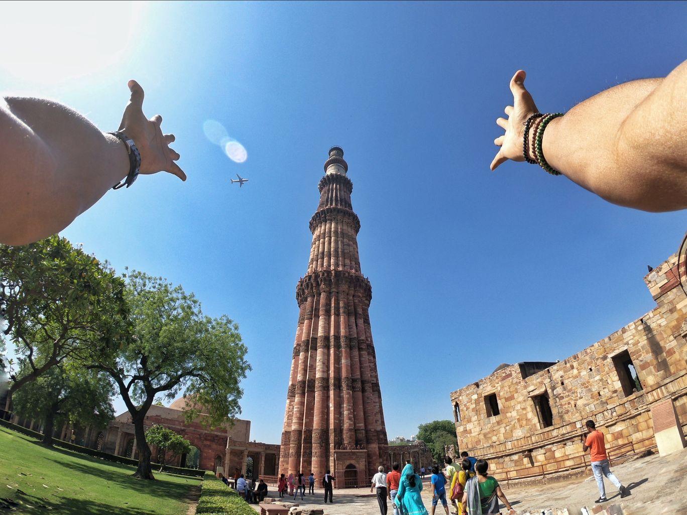 Photo of Qutub Minar By khanabadosh