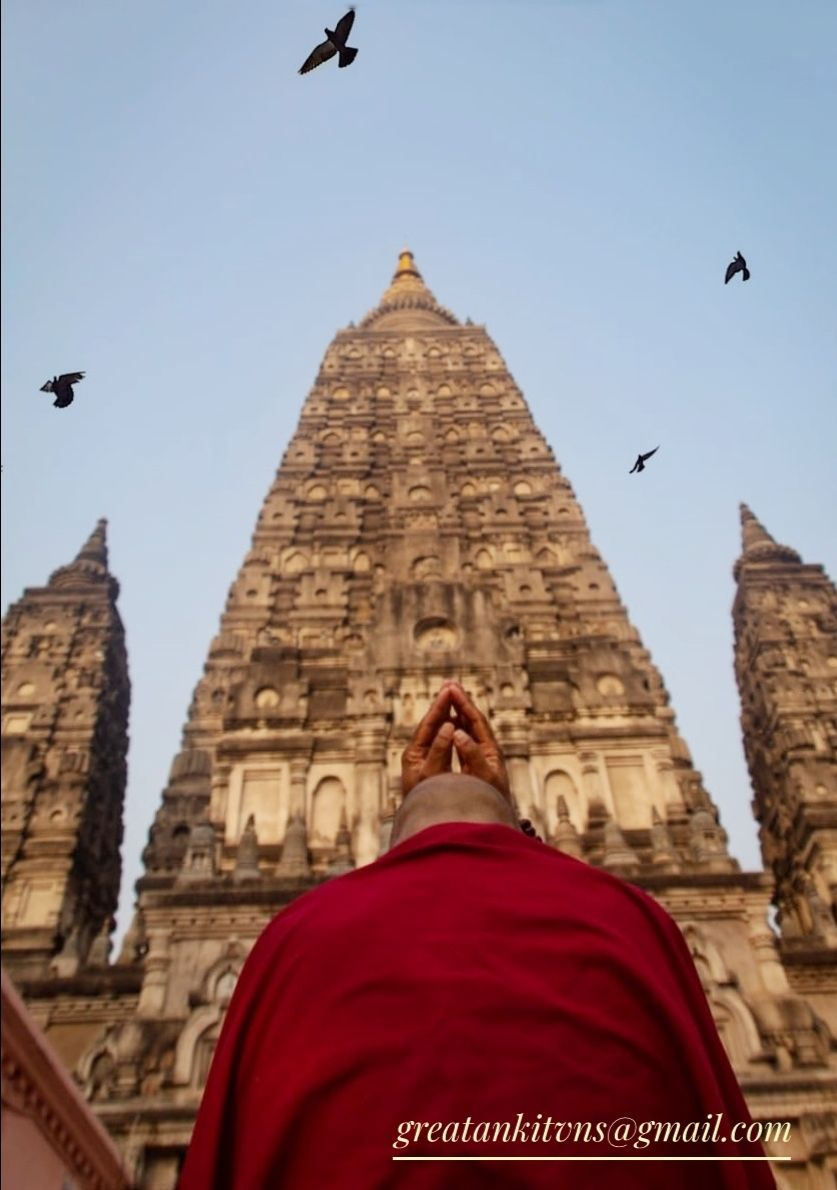 Photo of Mahabodhi Temple By Ankit Singh Maurya