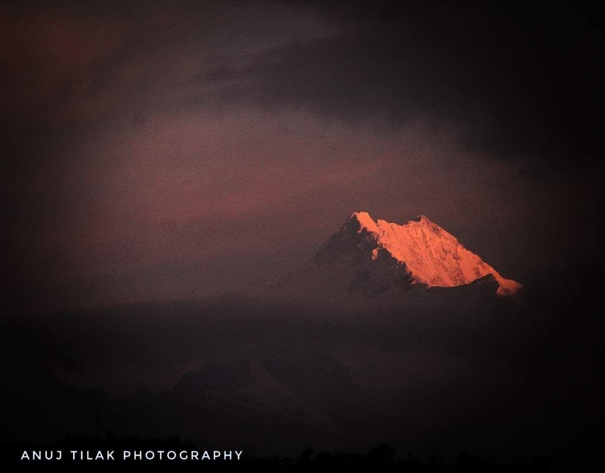 Photo of Kanchenjunga By Anuj Tilak