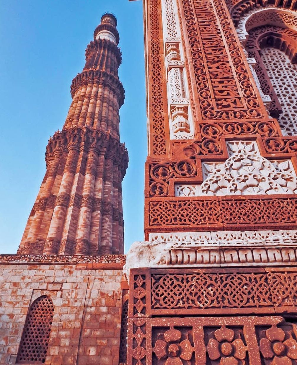 Photo of Qutub Minar By Abhishek Kumar
