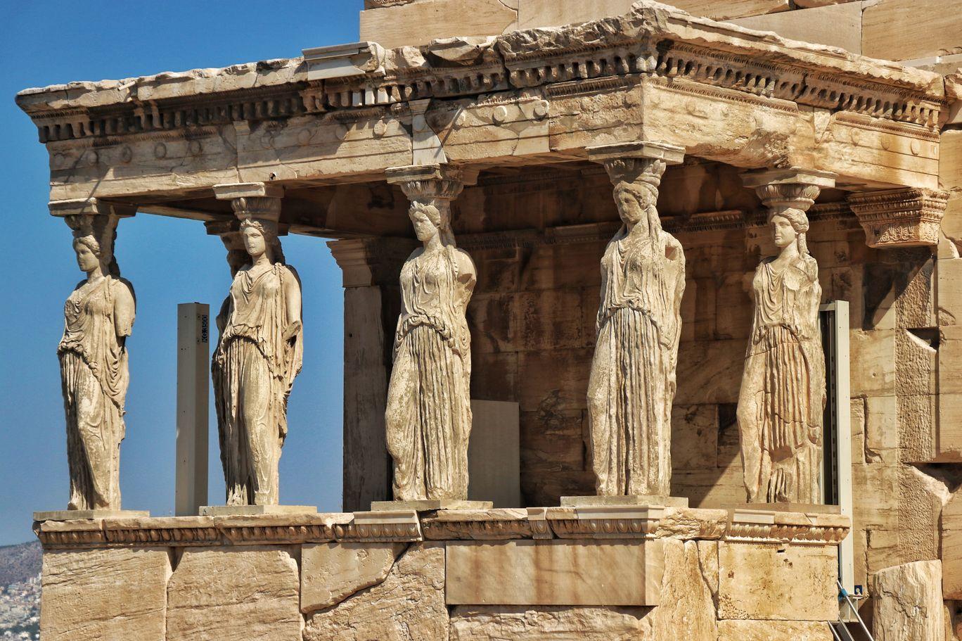 Photo of Statue of Athena By Jim Dias