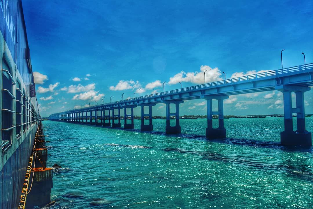 Photo of Pamban Bridge By Nikunj Bajpai