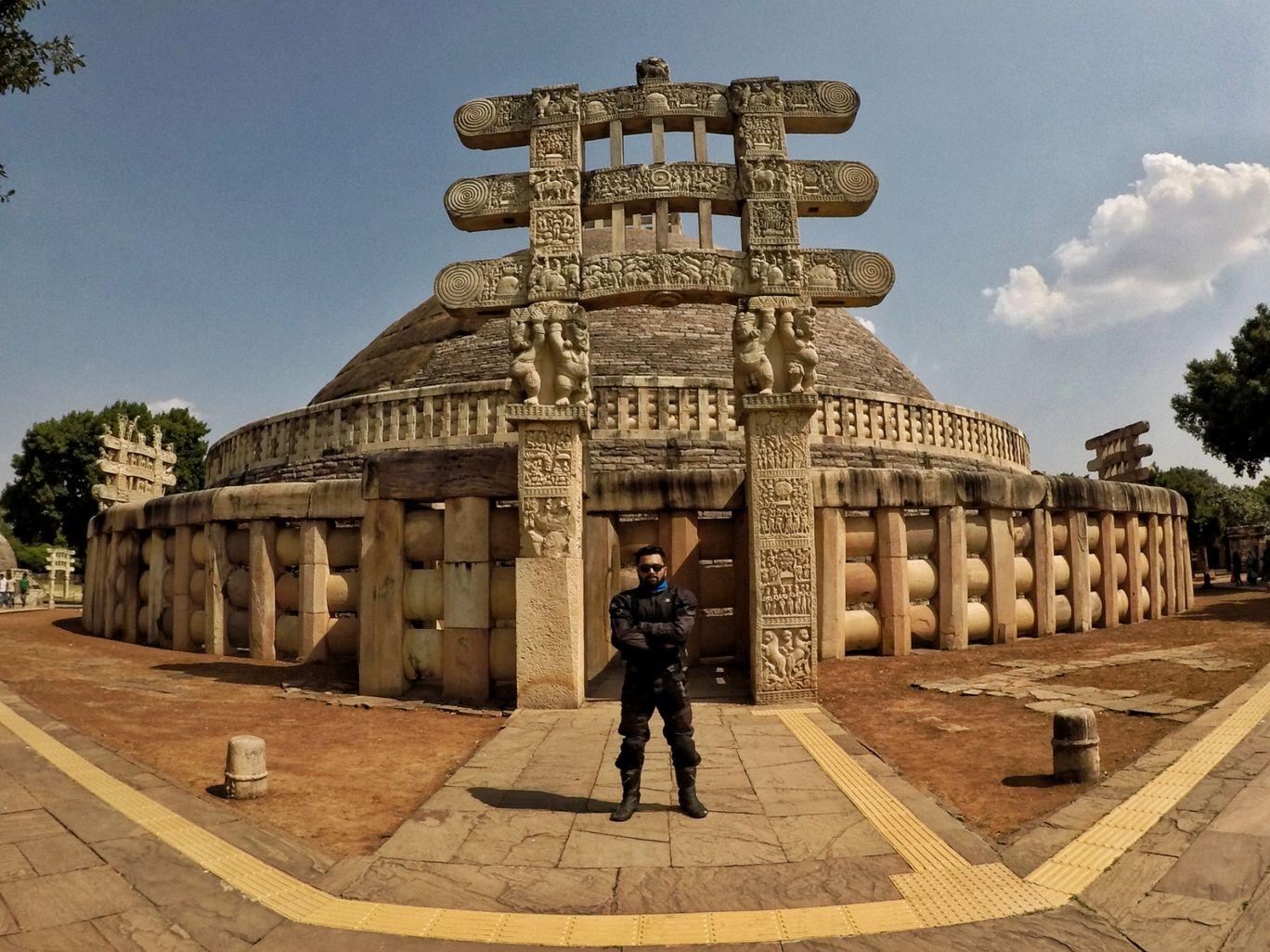 Photo of Sanchi Stupa By Deepak Yadav